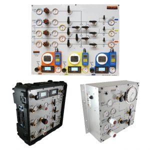 Diver gas panels